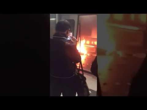 Hong Kong MTR station fire