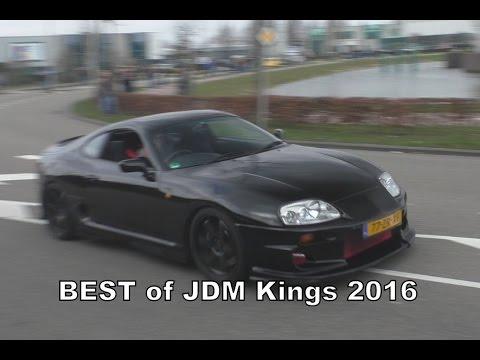 BEST of JDM Kings 2016 - HARD Accelerations, Revs & Sounds