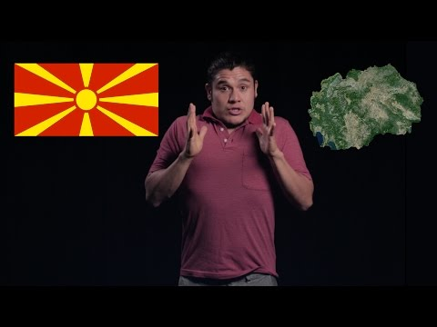 Geography Now! Rep. of North Macedonia (F.Y.R.O.M)