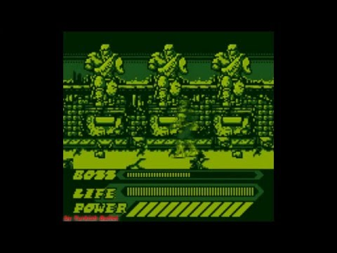Mighty Morphin Power Rangers: The Movie (Game Boy) - (Longplay - Yellow Ranger | Hard Difficulty)