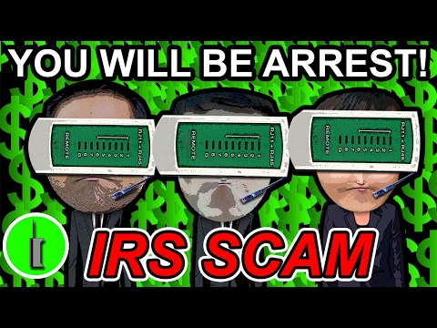 The Dumbest IRS Scammer Script I