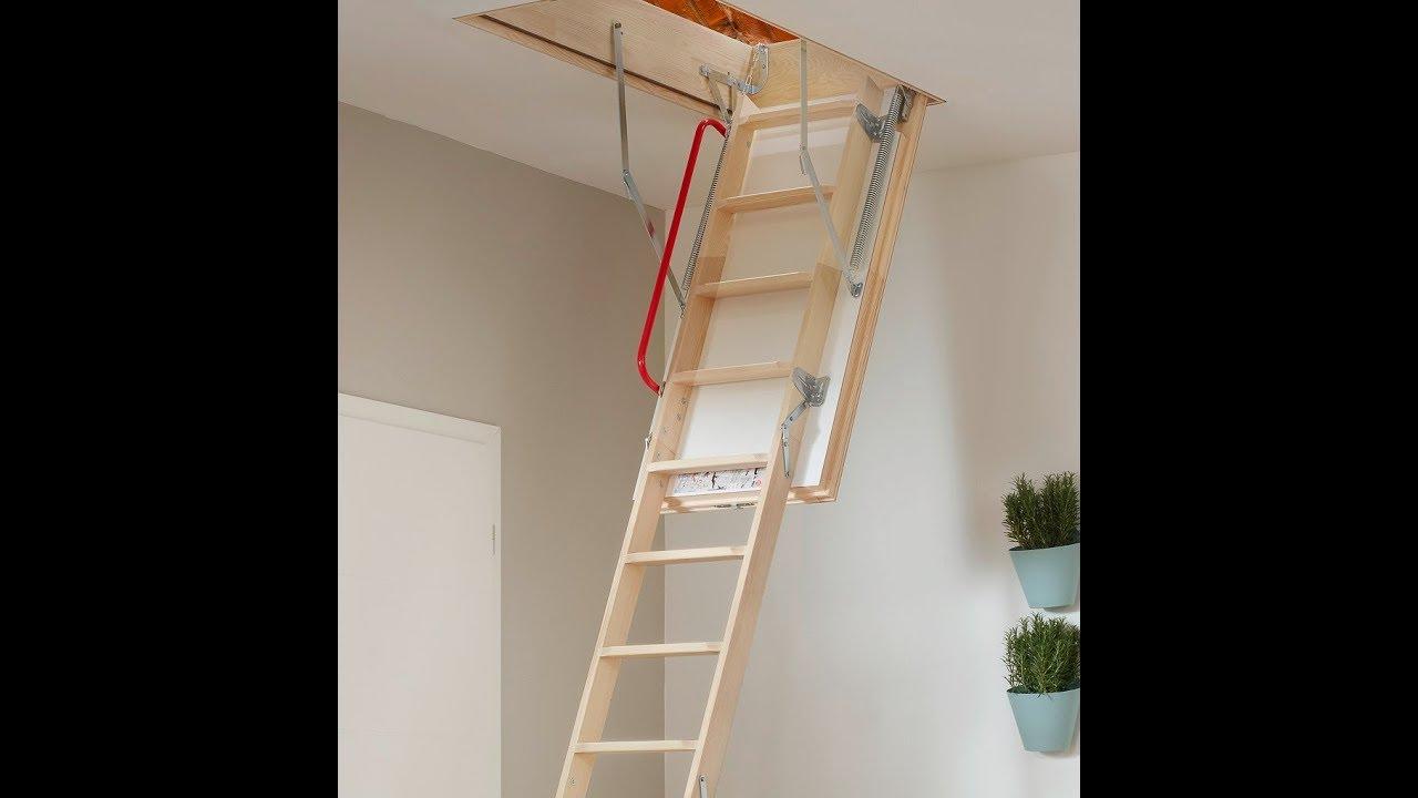 Dachbodentreppe Einbauen Lassen : Bodentreppe intercon perfect schnell einfach selbst einbauen