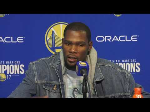 Kevin Durant addresses his failed game winner against Rockets | ESPN