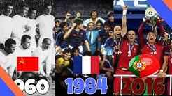 Fußball Europameister: Evolution: 1960 - 2016