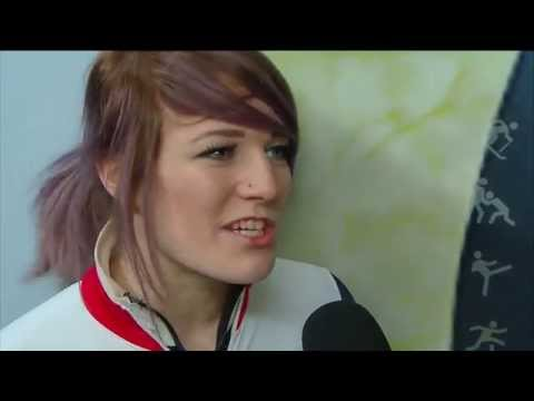 Elise Christie /Women`s 500m Final + interview - ISU World Cup Short Track Speed Skating Toronto