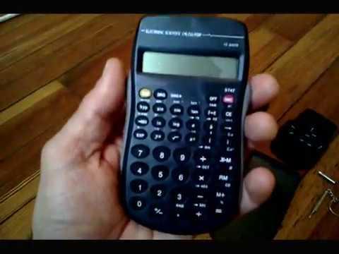 TI-30X v Dollar Store Scientific Calculator 🖩 Comparison - YouTube