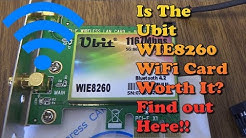 How To Install A Wifi Card On Desktop PC - Ubit Wireless Network Card Review Installation Speed Test