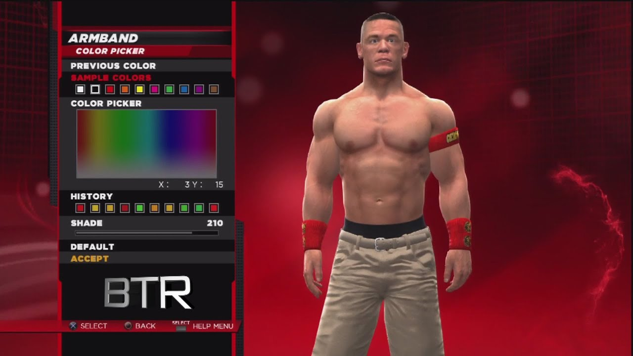 wwe 2k14 superstar threads john cena summerslam 2014 attire - youtube
