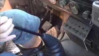 Defender clutch master cylinder part 2 (mini test drive)