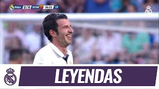 🚀 Luis Figo's free-kick GOLAZO 🆚 A.S. Roma Legends!