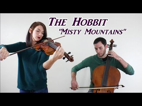 Misty Mountains (The Hobbit) - Cello and Violin Cover