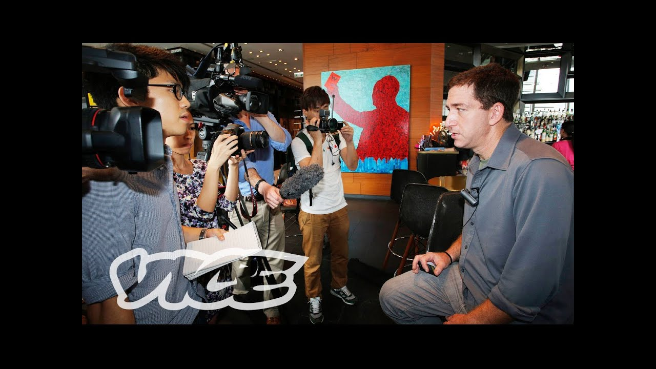 VICE Meets Glenn Greenwald: Snowden's Journalist of Choice - YouTube