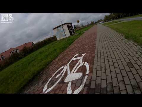 2017-10-15 - test stabilizacji w kamerze GoPro Hero 6 Black Go Pro - na rowerze 4K