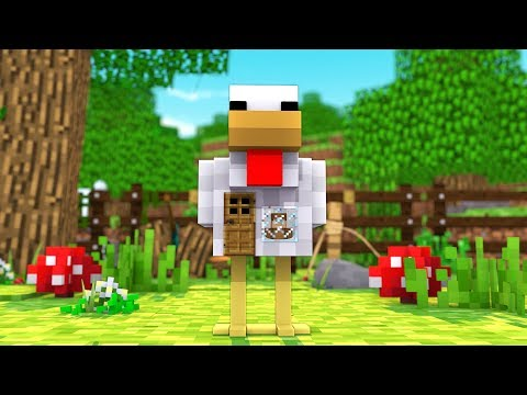 Thumbnail: HOW TO LIVE INSIDE A CHICKEN IN MINECRAFT!