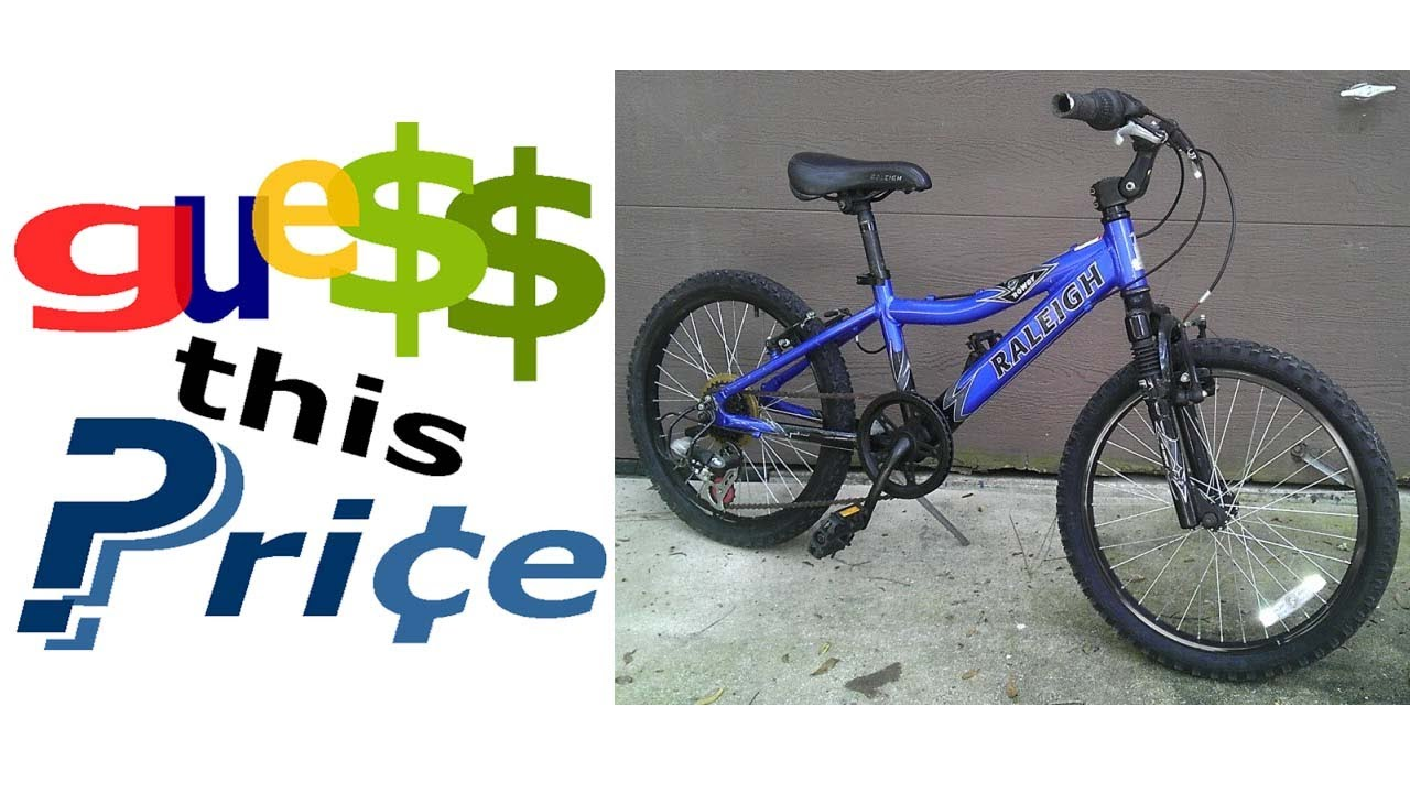 Raleigh Rowdy 20 Kids Mountain Bike Guess This Price Ebay