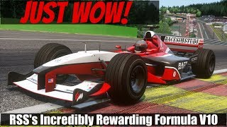 [20.85 MB] The Greatest Ever? Race Sim Studio Formula RSS 2000 V10 Mod for Assetto Corsa (Review and VR Drive)
