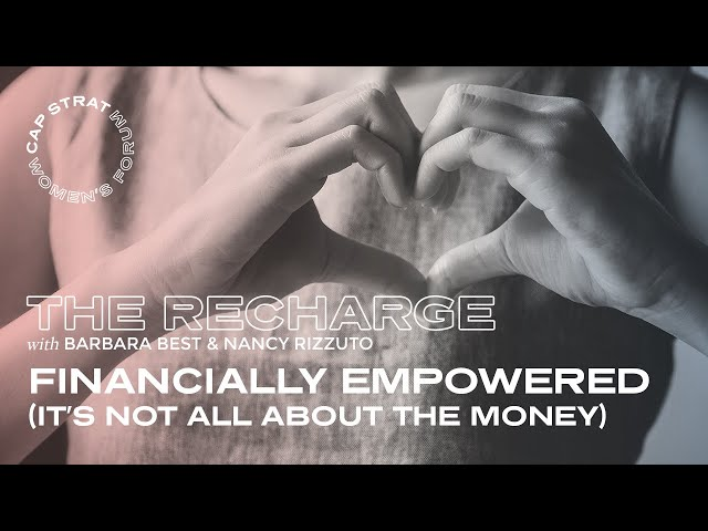 Financial Empowerment (It's Not All About the Money)
