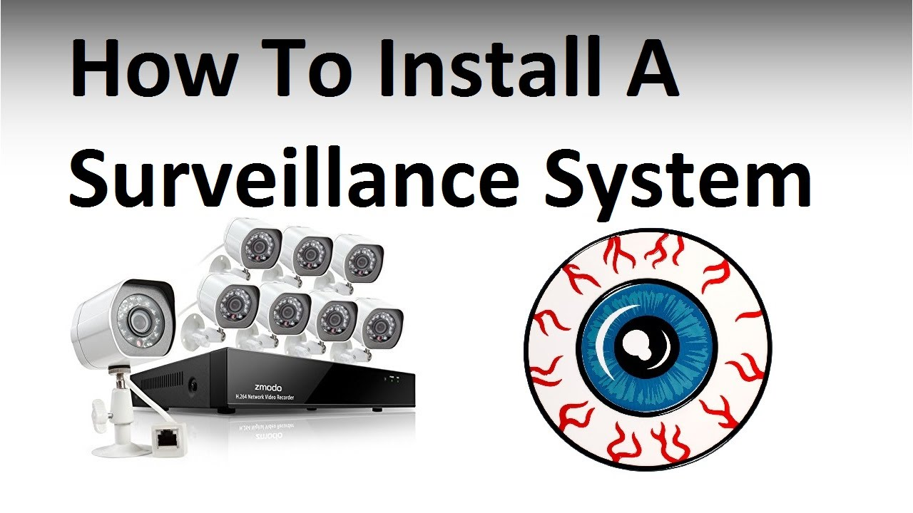 hight resolution of wiring a home surveillance system