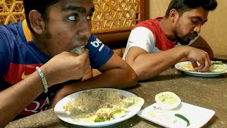 Eating Buffet Lunch(Unlimited Biryani) With Friends at Sultan's Kitchen