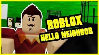 ROBLOX HELLO NEIGHBOR | Hallo, Nachbar! Beta I