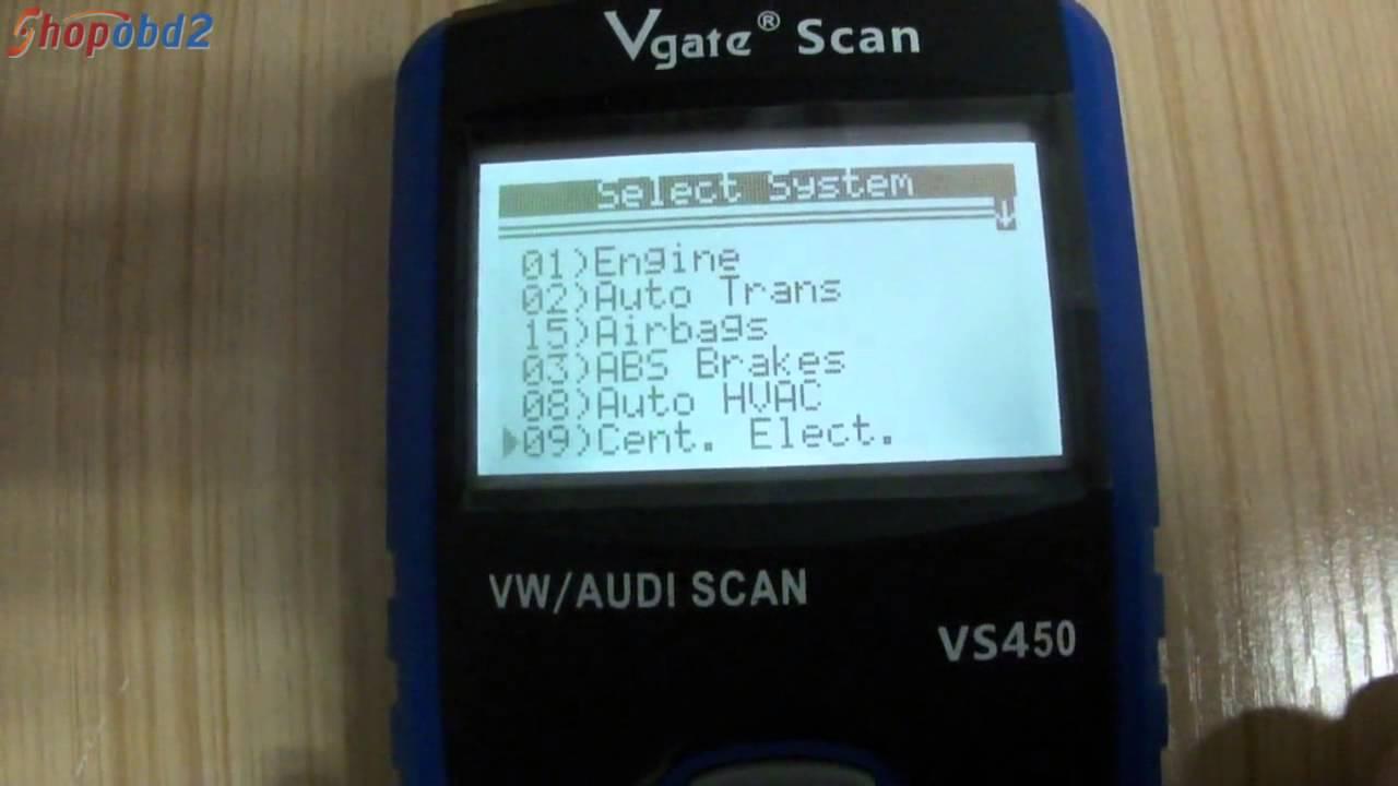 Vgate Scan VS450 - YouTube