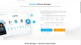 Manage iPhone nad iPod using DearMob iPhone Manager without iTunes