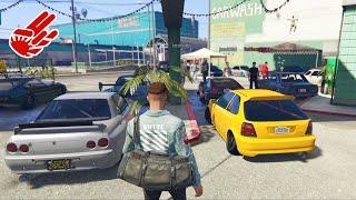 GTA5 JDM STANCE CAR MEET 🛸 HUGE TAKEOVER!!!