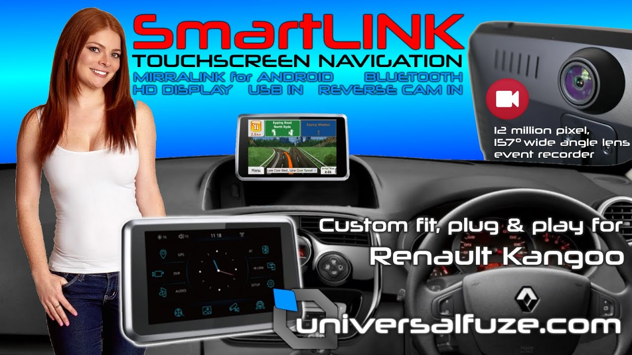 renault kangoo smartlink navigation reverse camera upgrade. Black Bedroom Furniture Sets. Home Design Ideas