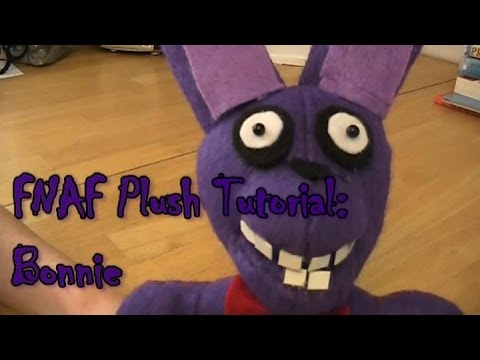 Five Nights at Freddy's plush tutorial Bonnie