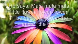 Katy Carr- Mała Little Flower (tekst)