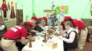 Юнармейцы отправили сирийским детям новогодние подарки