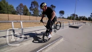 How To Hang Five On A BMX With Ryan Nyquist: Getting...
