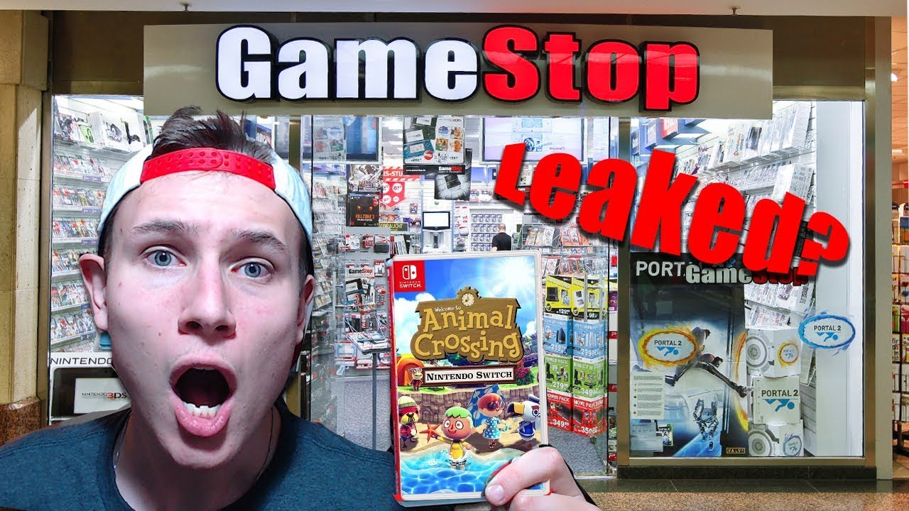 Did Gamestop Leak The Animal Crossing Switch Release Date Youtube