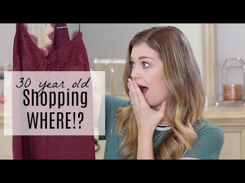 30 Year Old Shopping Where!? | Abercrombie & Fitch Haul & Try-On
