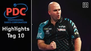 Rob Cross ringt Michael Smith nieder, West schlägt Wattimena | Highlights | PDC Darts WM 2018 | DAZN