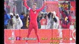 Geir Karlstad - Winter Olympics, Albertville 1992 - 5 000 m
