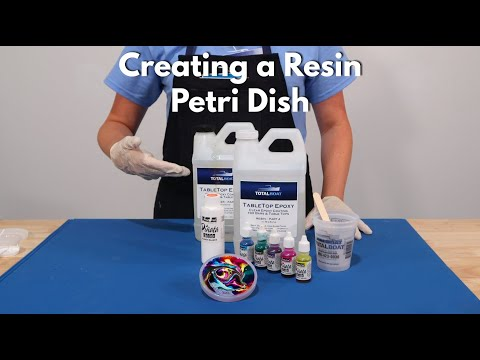 Creating a Resin Petri Dish