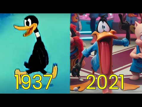 Evolution of Daffy Duck in Movies, Cartoons & TV (1937-2021)