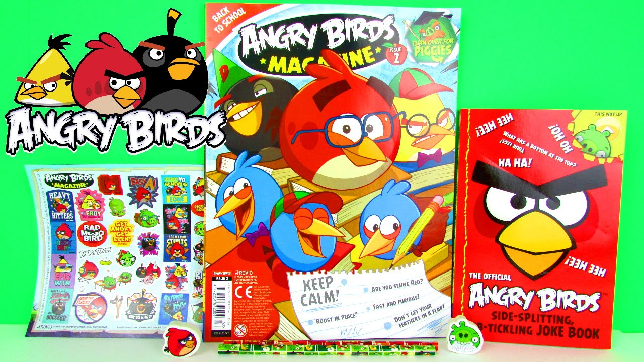 New Angry Birds Magazine Issue #2 Plus Epic Free Gifts ...