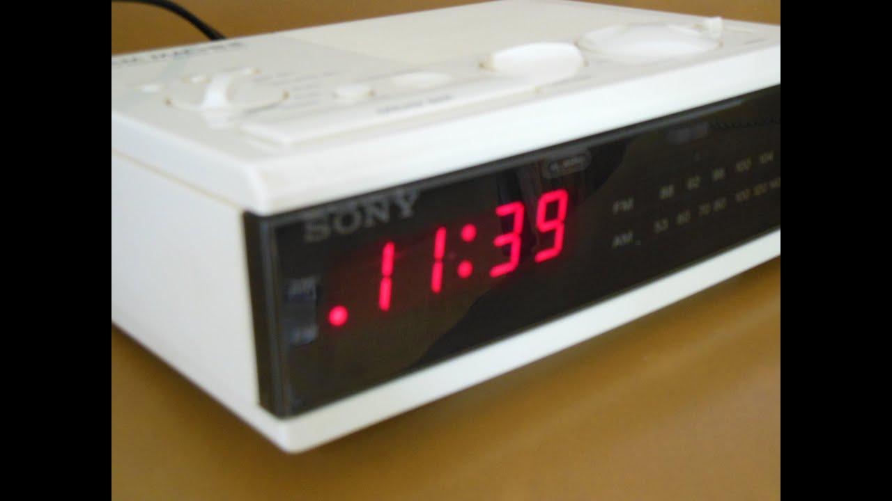 Sony Dream Machine Alarm Clock Manual Unique Alarm Clock