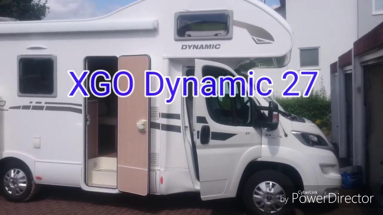 XGO Dynamic 8 Wohnmobil Baujahr 8 - YouTube