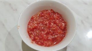 Рецепт хреновой закуски из помидор с чесноком