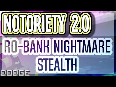 Roblox Notoriety Revamp RO-Bank Nightmare Stealth