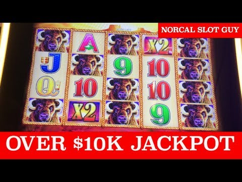 $10,000+ 💰 HAND PAY JACKPOT | BUFFALO GOLD MASSIVE WIN @ Graton Casino | NorCal Slot Guy