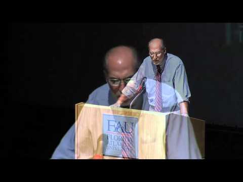 FAU - 2010 O'Sullivan Lecture - Robert Goldberg