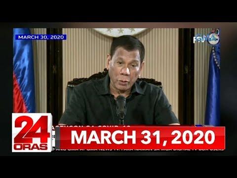 24 Oras Express: March 31, 2020 [HD]