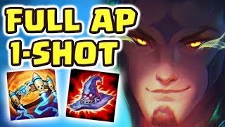 HOW IS THIS EVEN POSSIBLE ?! UNKILLABLE BUILD| FULL AP STAR GUARDIAN RAKAN JUNGLE IS ACTUALLY INSANE