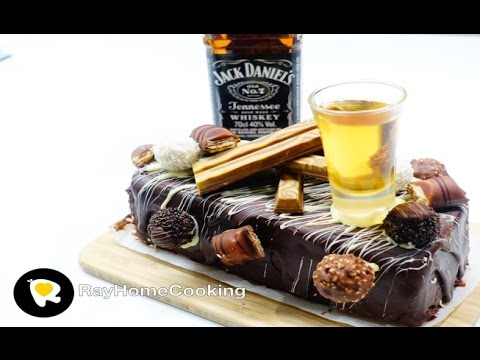 Jack Daniels Chocolate Cake Birthday Cake Edition YouTube
