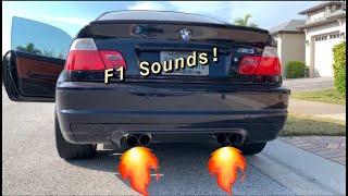 E46 M3 Muffler Install
