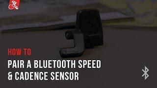 How To: Pair a Bluetooth Speed & Cadence Sensor